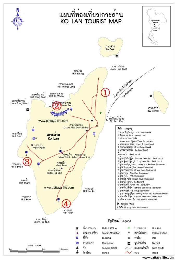 格兰岛海滩分布地图